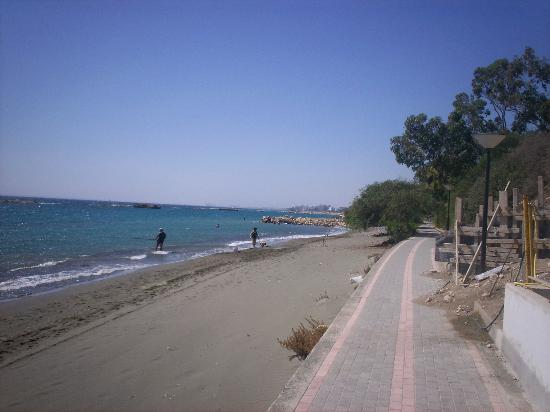Atlantica Gardens Hotel: We walked the whole length of shore, this is just one part!