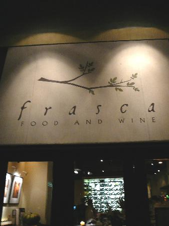 Photo of Italian Restaurant Frasca Food & Wine at 1738 Pearl Street, Boulder, CO 80302, United States