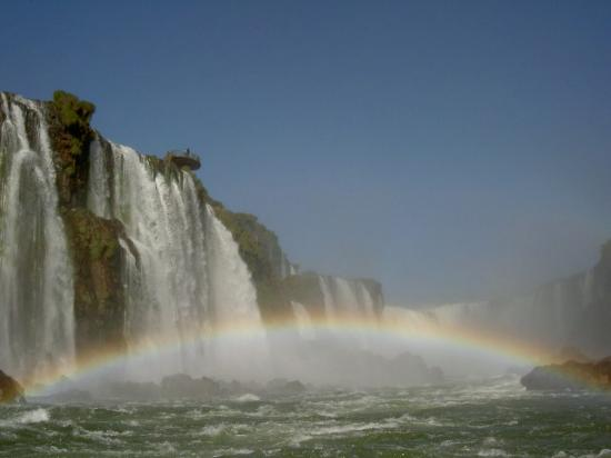Iguazu Falls: From the river