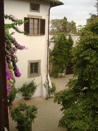 Villa Dianella: view from our window