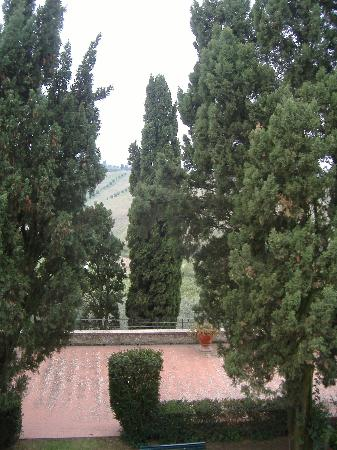 Villa Dianella: view from another window