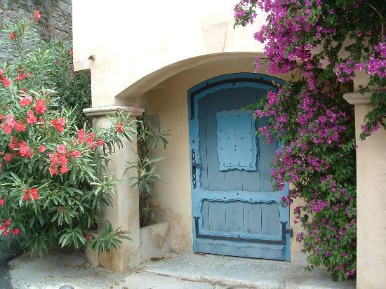 Doorway in Le Castellet, Provence