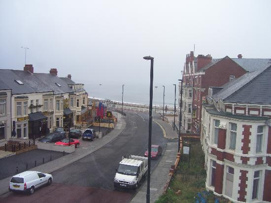 Windsor Hotel - Whitley Bay: the view from our hotel window