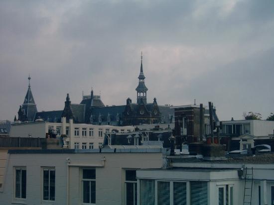 Hotel Verdi: Ausblick aus Zimmer 14