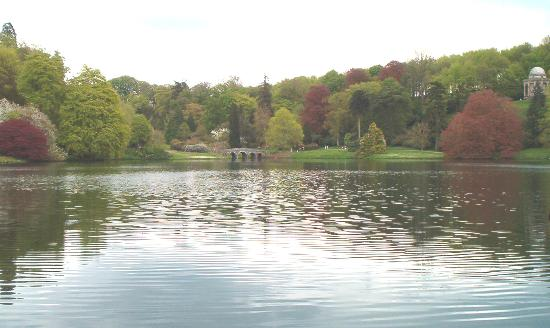 Stourhead House and Garden: View from the Grotto