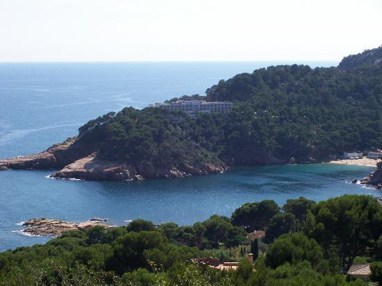 Begur, Spania: Distance view