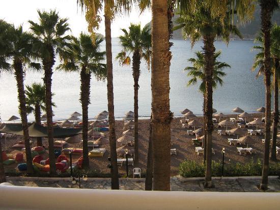 Fantasia Hotel De Luxe Marmaris: View from Room 107