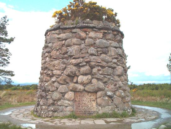 Culloden Moor, UK: Memorial to all the clans, Culloden field