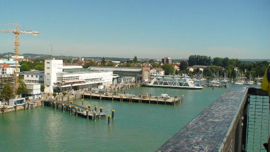 Фридрихсхафен, Германия: Friedrichshafen wharf