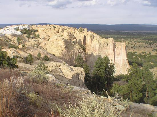 Ramah, Nuevo Mexico: The Mesa from the top
