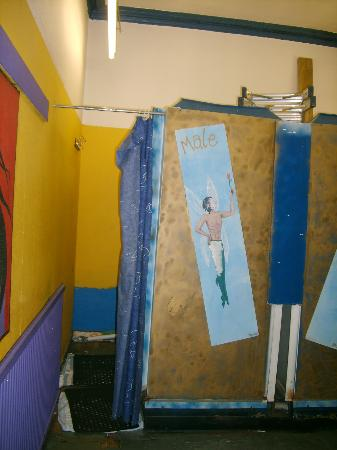 Princes St East Backpackers: Showers