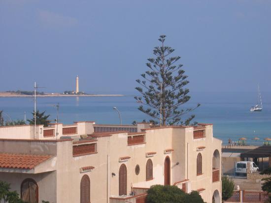 Hotel Krimar: view from breakfast terrace