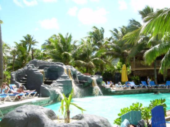 The Rarotongan Beach Resort Spa Poolside
