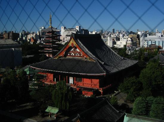 Via Inn Asakusa: View through our window