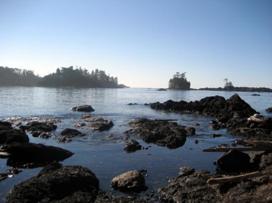 A Snug Harbour Inn: View from the Private Beach