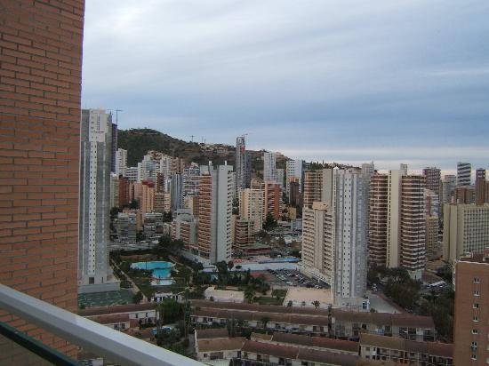 Playamar Apartments Click Benidorm: View from balcony