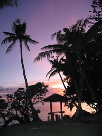 Carp Island Resort: Sunset