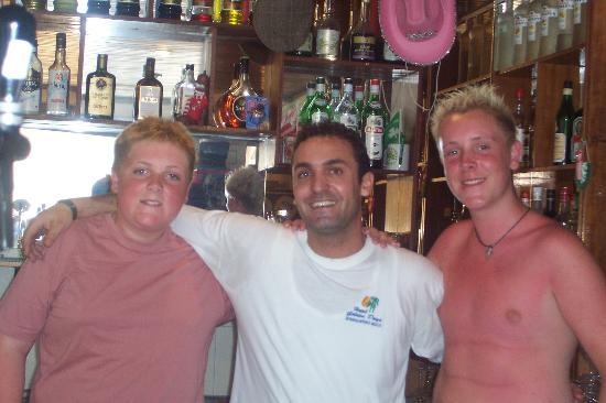 Golden Days Hotel: Yiannis before he hibernates!!