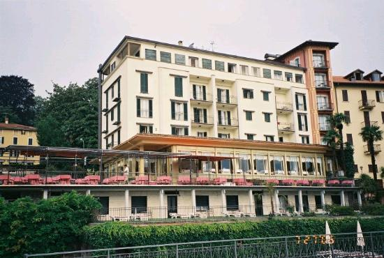 Hotel Belvedere Bellagio: View of the hotel from the rear