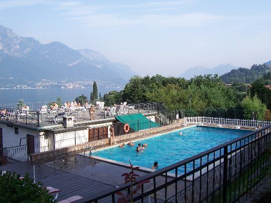 Hotel Belvedere Bellagio: Pool area