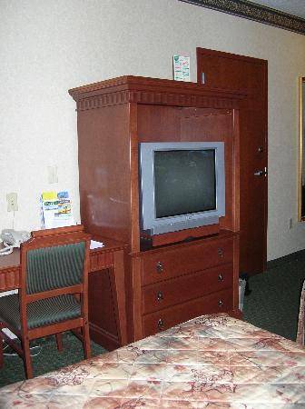 Glens Falls, Nowy Jork: Flat screen TV