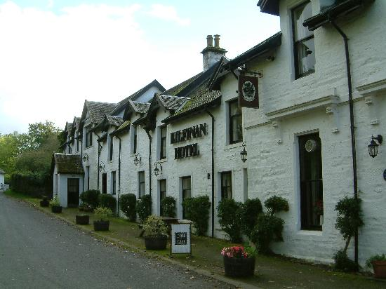 Kilfinan Hotel : The Front of the Hotel