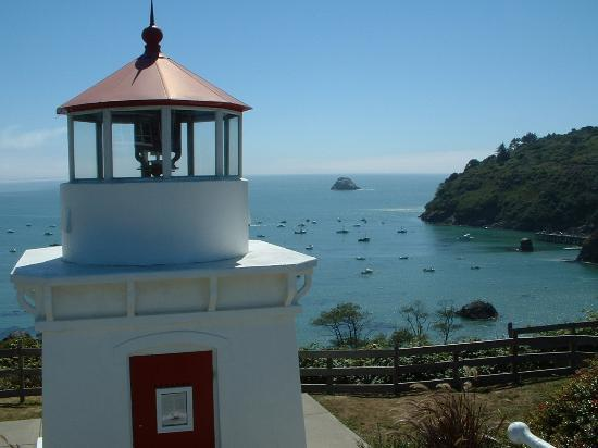 Trinidad, Калифорния: The view from the lighthouse