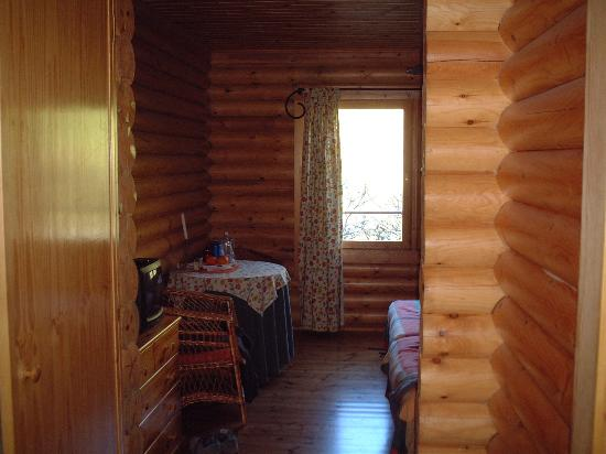 Ribeira Brava, Portugal: Log Cabin bedroom