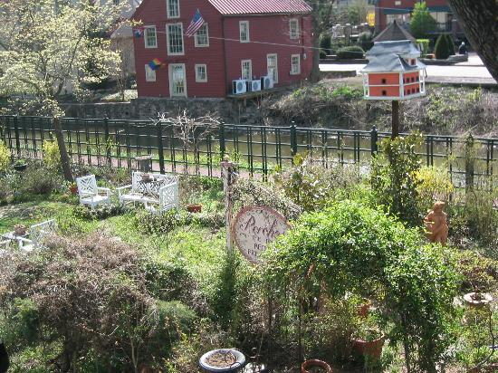Porches on the Towpath: view from the porch
