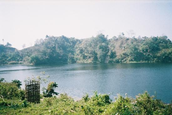 Chittagong City, Bangladesh: a beautiful lake in bandarban