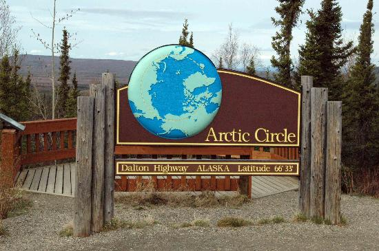 Coldfoot, AK: Circle Sign