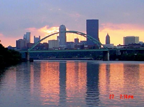Pittsburgh, Pensilvania: Sunset