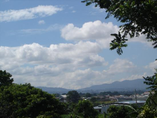 Heredia, Costa Rica: View of Tibas