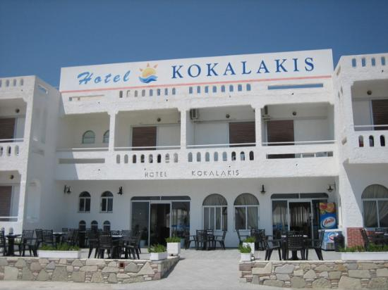 Kokalakis Beach Hotel: Hotel Entrance