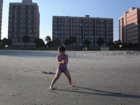 Sandcastle Oceanfront Resort at the Pavilion : 3 pavillion buildings Spetember 2006