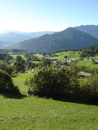 Alpenhotel Denninglehen: View from balcony of our room