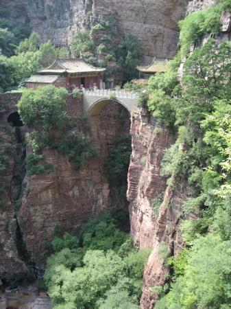 Shijiazhuang, Chiny: Cangyan Shan old bridge