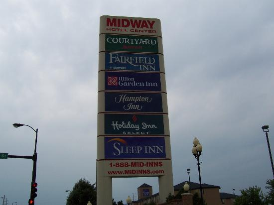 Holiday Inn Express Chicago-Midway Airport: Collection of hotels