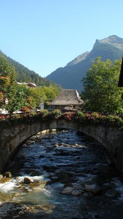 Morzine mountain stream