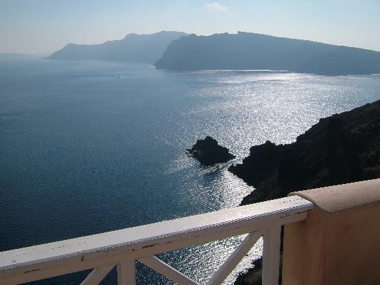 Art Maisons Luxury Santorini Hotels Aspaki & Oia Castle: From the balcony