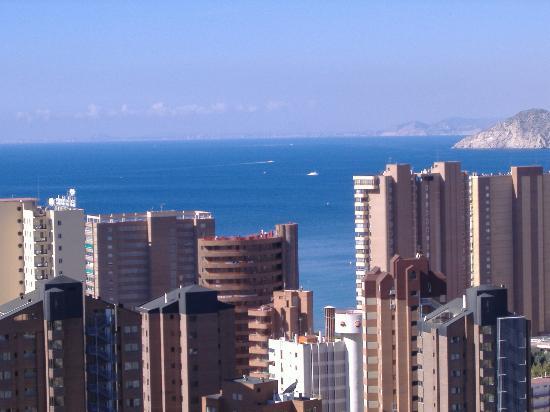 Vacanza Mayve Apartments: view from 18th floor,san marino block