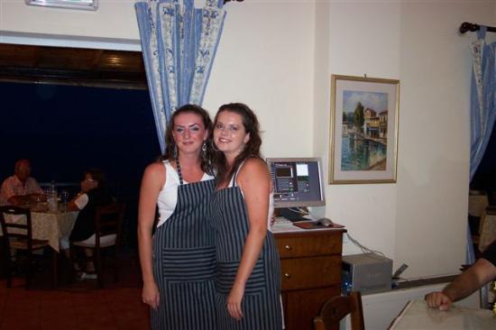 Porto Skala Hotel & Village: Lovely Maria and Vierka
