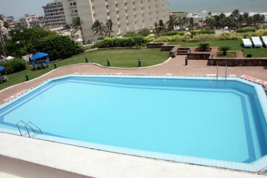 View Of The Pool Picture Of Welcomhotel Grand Bay Visakhapatnam Vizag Tripadvisor