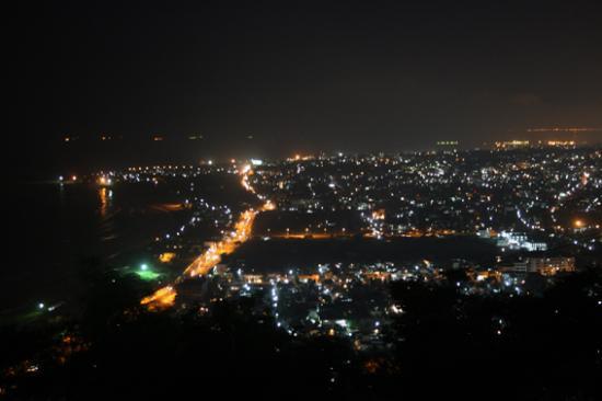 WelcomHotel Grand Bay: Night View of Vizag from Kailasagiri