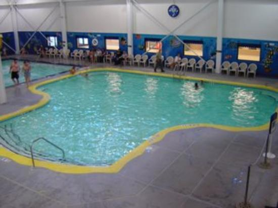 Sleep Inn Minot: Nice pool, lots of fun.