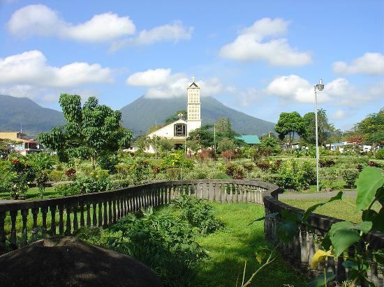 Bagaces, Kostaryka: Downtown La Fortuna