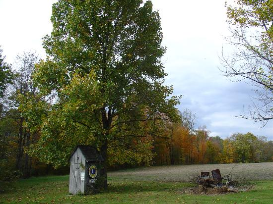 Indiana: Little Outhouse on the Praire