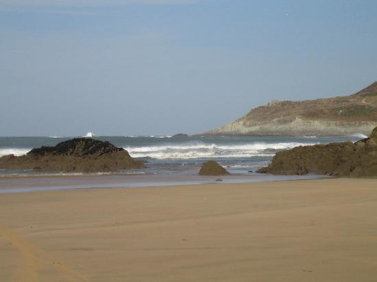 The Woolacombe Bay Hotel: The beach at Woolacombe