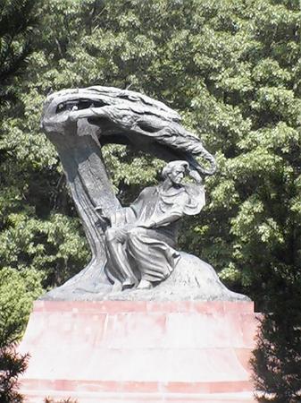 Varsovie, Pologne : The Frederic Chopin Monument