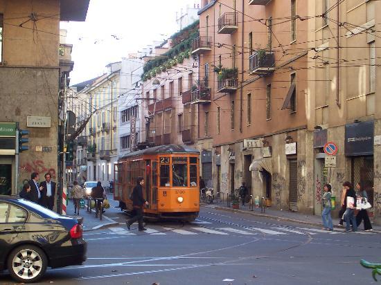 Hotel Roxy: Via Nino Bixio, Street of the Hotel